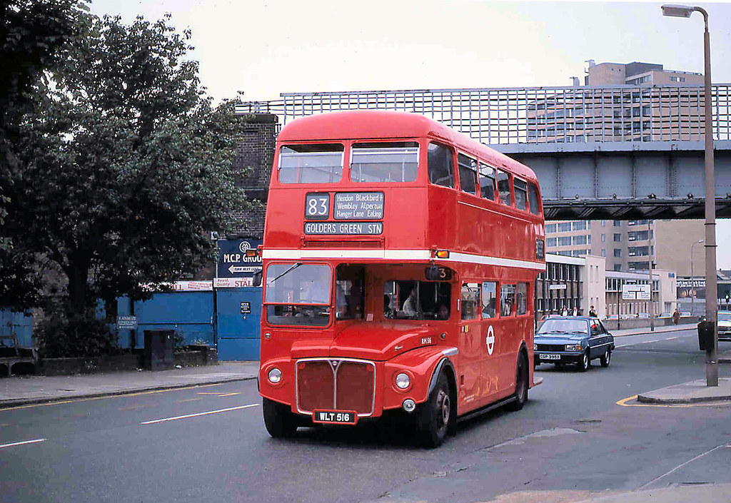 London Transport Route 83 At Alperton Station Rm 516