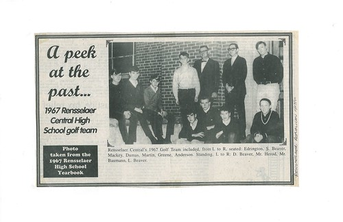 B064_Rensselaer_Central_High_School_Golf_Team_1967 | by myjcpl