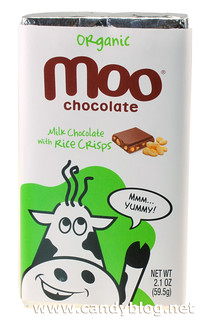 Organic Moo Chocolate Milk Chocolate with Rice Crisps | by cybele-