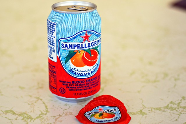 Sanpellegrino Blood Orange soda | Flickr - Photo Sharing!