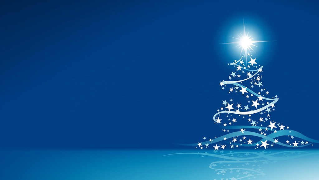 Blue Christmas Wallpaper - Christmas Screensavers and Ch… | Flickr