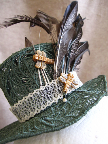 Dragonfly Mini Top Hat | by StoriedThreads