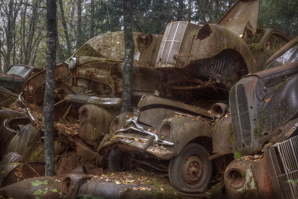 Car Graveyard Explore This Vast Car Graveyard In