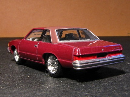 A 1 64 Scale 1978 Chevy Malibu From Johnny Lightning
