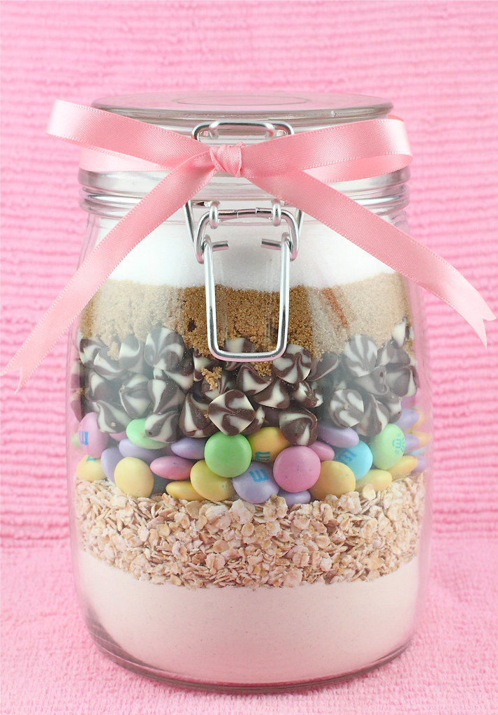 cookies in a jar chocolate chip and m m cookies in a jar flickr. Black Bedroom Furniture Sets. Home Design Ideas