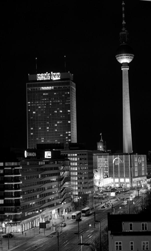 Berlin White Night Streets at Night Berlin
