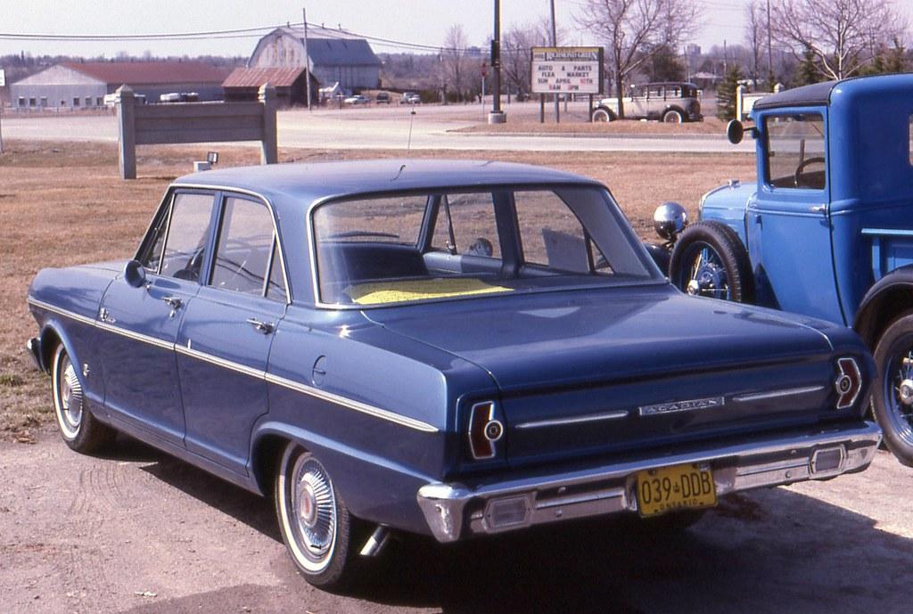 1963 Acadian Canso 4 Door Richard Spiegelman Flickr
