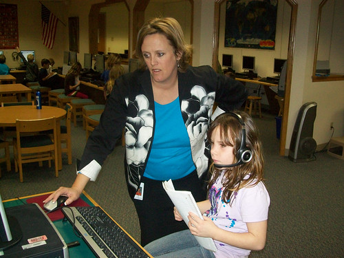 Terri and student | by WIbroadband