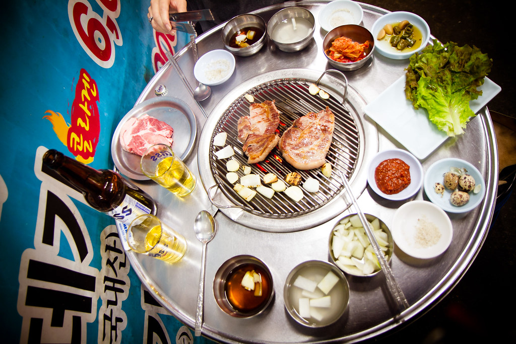 Korean Table Korean Bbq Table do it