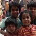 Kids at the Sufi Nizamuddin Auliya, Delhi