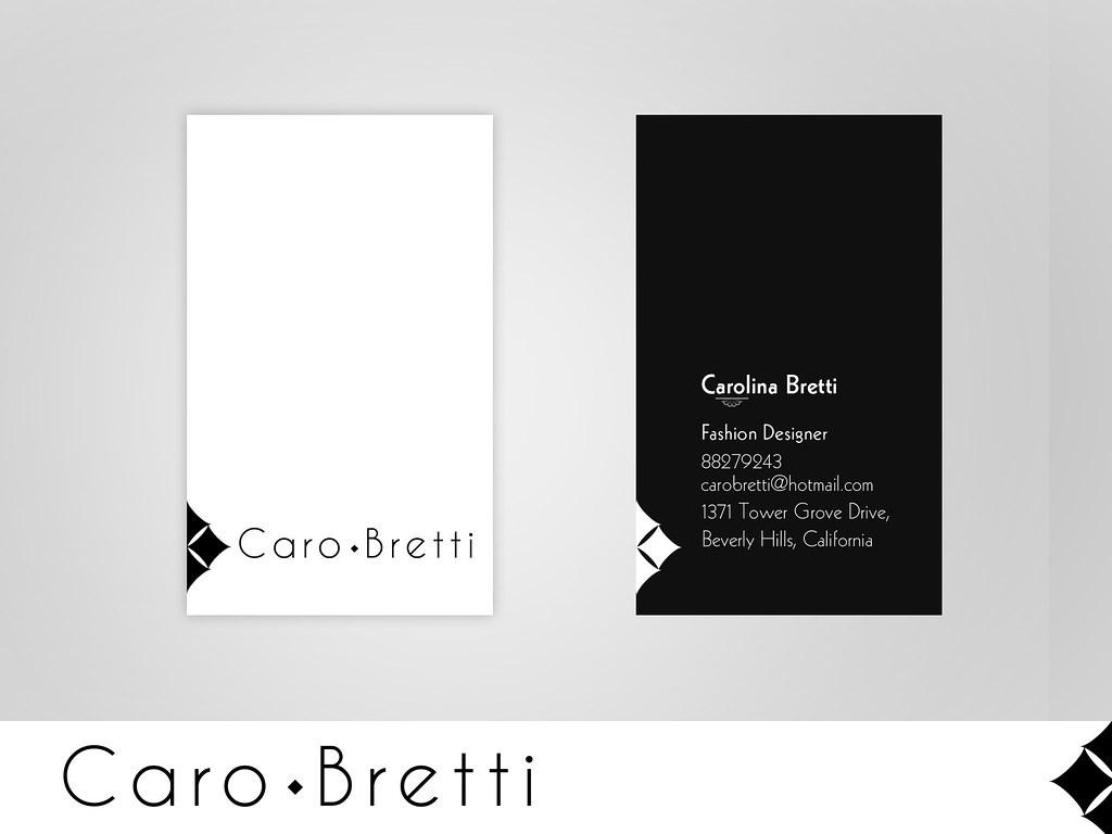 Business card fashion designer carolina bretti growan1 flickr magicingreecefo Images