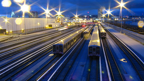 train depot at night | by hotep4all