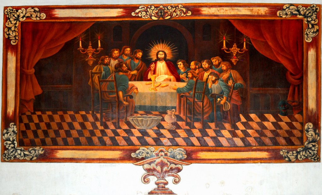The Last Supper Mission San Xavier Del Bac Tucson