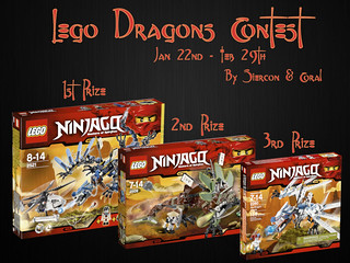 Lego Dragons Contest | by Siercon and Coral