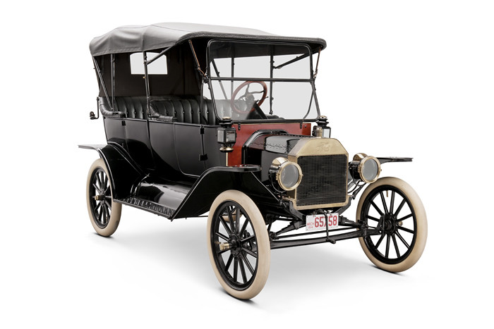 Model T Car: 1914 Ford Model T Touring Car, Given To John Burroughs By