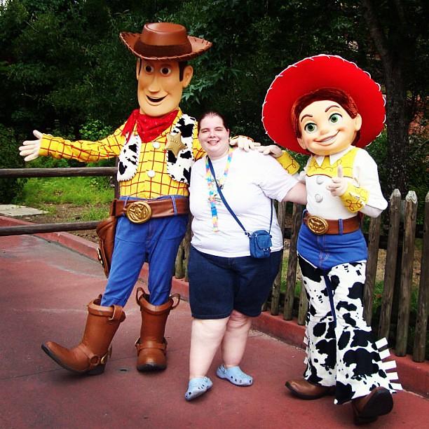 Saudades Toystory Woody Jessie Disney Magickingdom