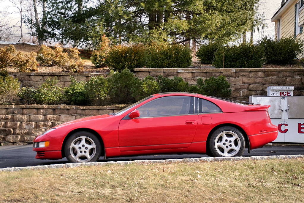 1990 nissan 300zx twin turbo with a for sale sign in the w flickr. Black Bedroom Furniture Sets. Home Design Ideas