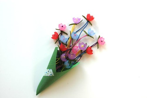 tulip ponytail holders | by shiso mama