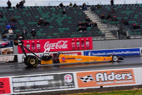 Jonny Lagg, KLR Dragster, FIA Top Methanol Dragster, Santa Pod 2016