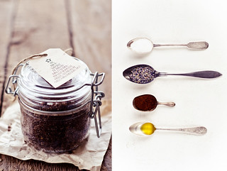 Home-made lavender and coffee scrub | by Tassike.ee - Marju Randmer