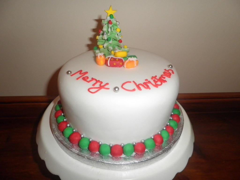 Christmas Tree Decoration For Cake : christmas cake Christmas tree christmas cake by ...