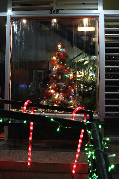 Decoraci n navide a restaurant la casa alejandro robaina - Decoracion navidena de casas ...
