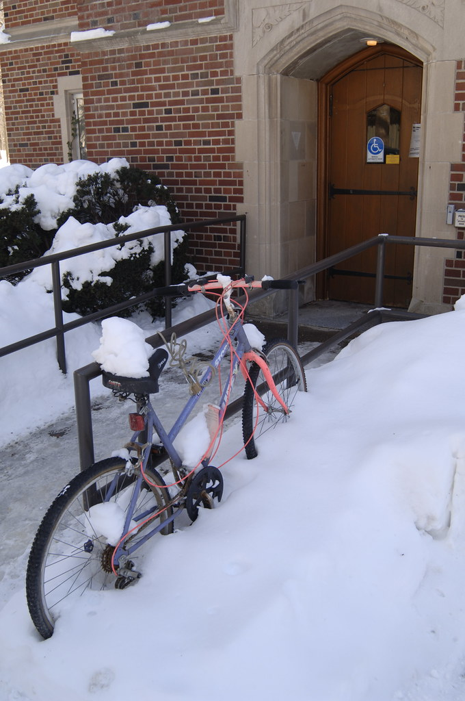 Bikes Rochester Ny Bikes Naz in Winter