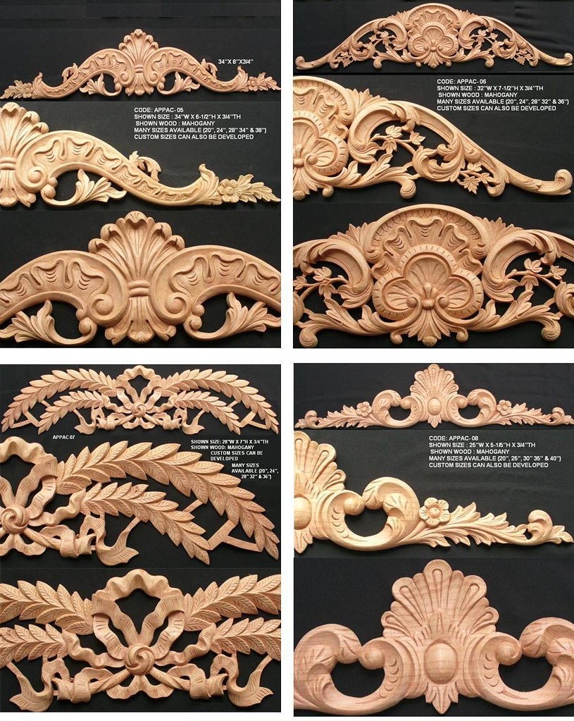 wood furniture appliques. wood furniture appliques l