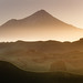 sunset at Mt.Taranaki