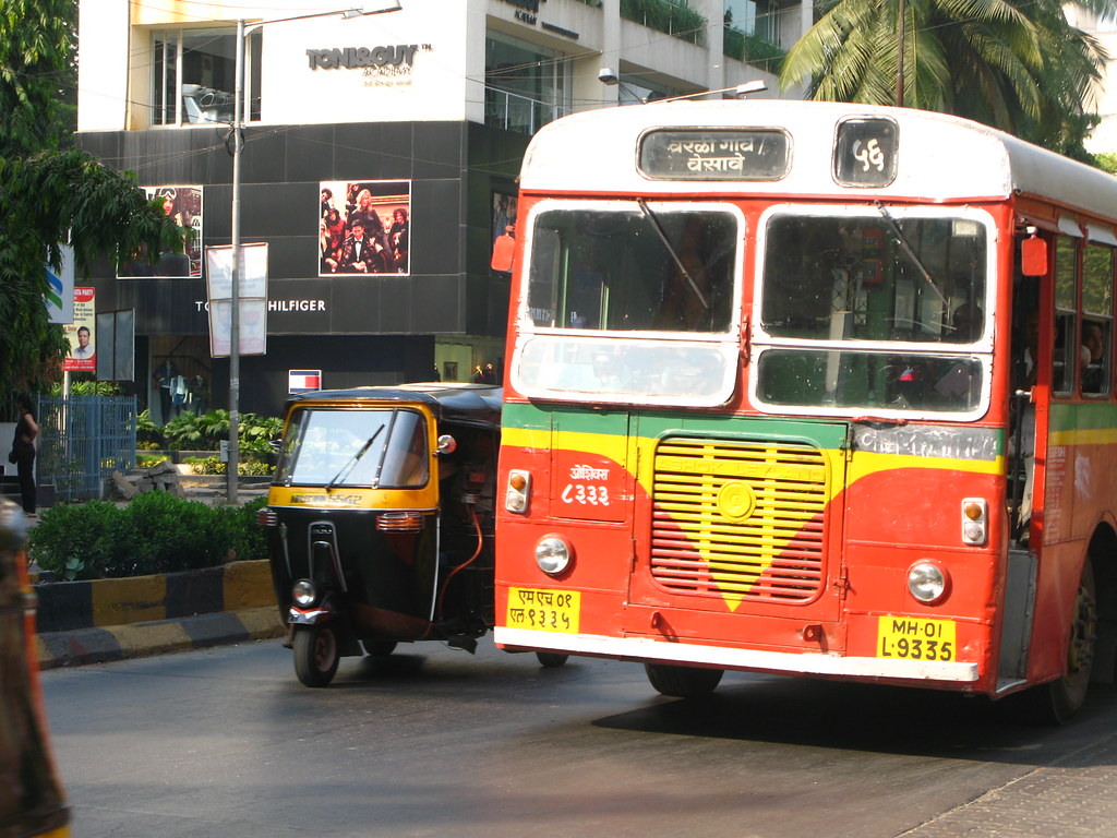 56 Best Buses Images On Pinterest: BEST Bus In Bandra