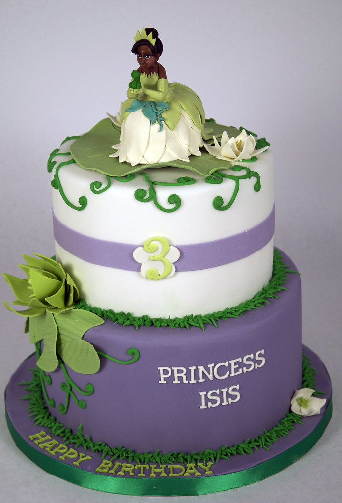 Princess Tiana Birthday Cake