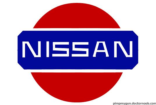 Old nissan logos