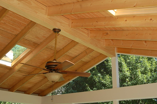 Screen Porch Cathedral Ceiling In Gaithersburg Maryland