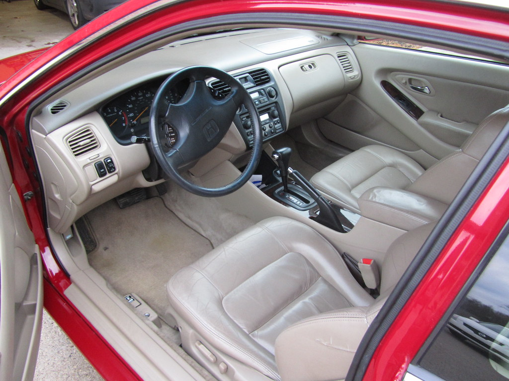 1998 Honda Accord Coupe Ex V6 Interior Jd00510 Flickr
