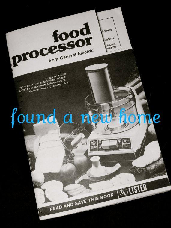 Ge Food Processor Model