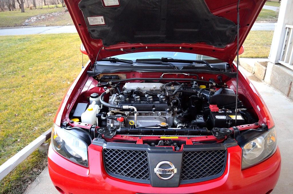 05 Sentra S Er Spec V Engine Here Is My Engine Bay And