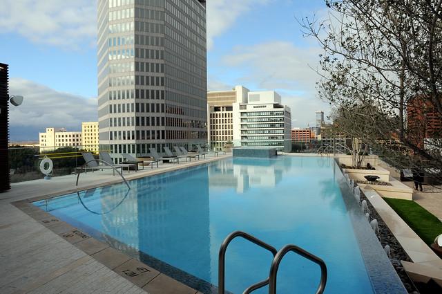 Omni Hotel Dallas Texas Swimming Pool Skyline Dsc 3824 Flickr Photo Sharing