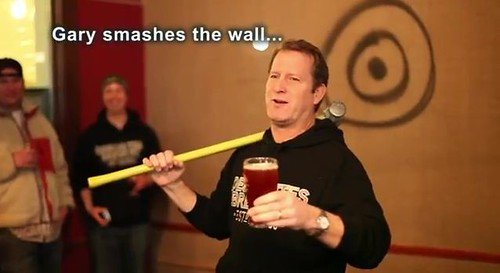 Gary Smashes Wall | by DeschutesBrewery