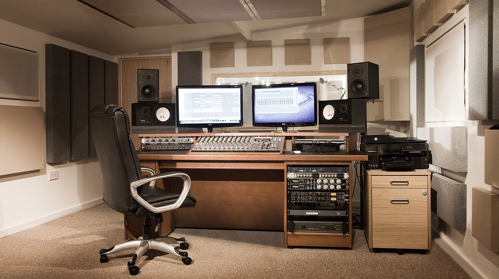 Recording Studio Furniture Custom Built Studio Desk Uk Flickr