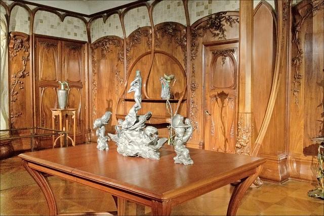 Salle manger de la propri t b nard par alexandre charpentier mus e d 39 orsay flickr photo - La salle a manger paris ...