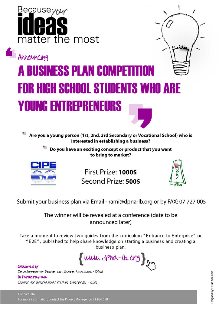 Competition in business plan