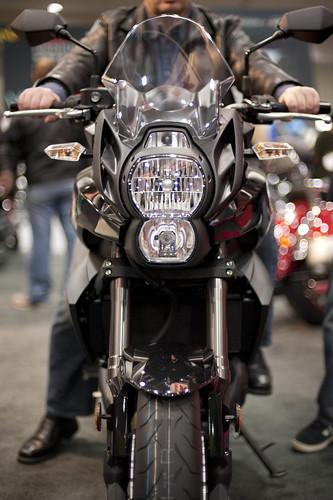 Motorcycle Kawasaki Versys