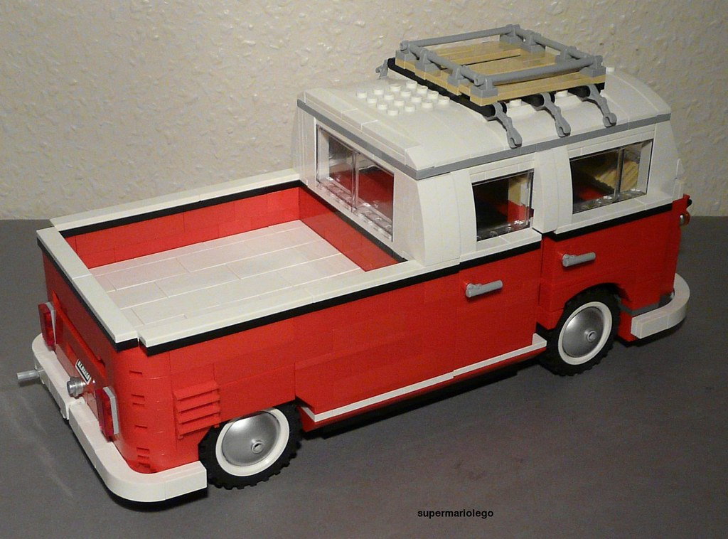 lego vw t1 doka lego vw t1 doka transporter made of lego. Black Bedroom Furniture Sets. Home Design Ideas