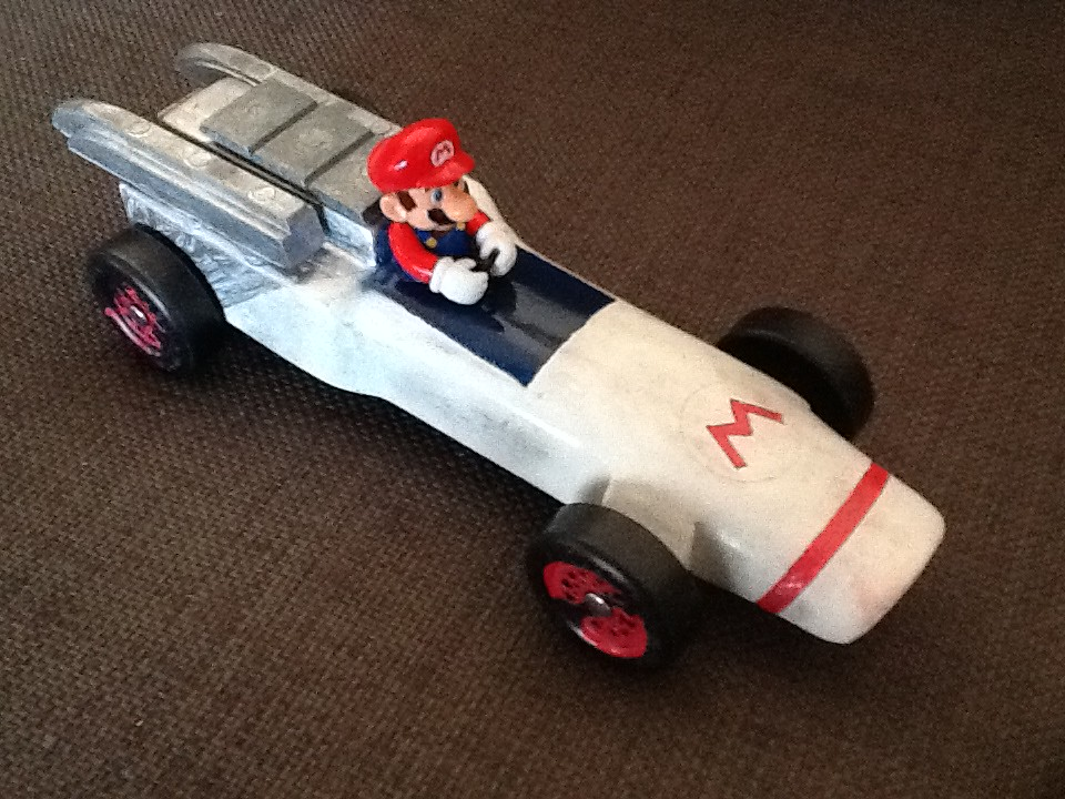Cool Pinewood Derby Car Paint Jobs