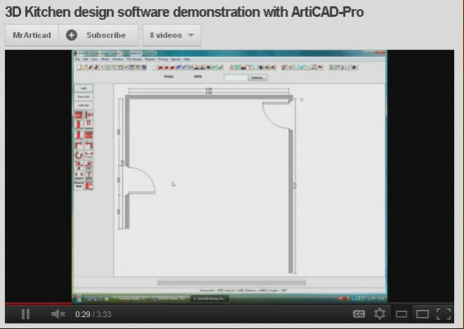 Articad planning interior design software see how easy for Easy interior design software