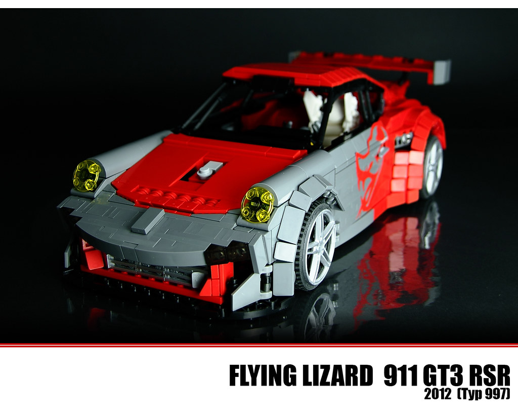 lego flying lizard porsche 911 gt3 rsr see more lego. Black Bedroom Furniture Sets. Home Design Ideas
