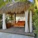 Tiki cabana side