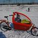 Bakfiets Cargobike snow westerpark