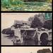 Claude Monet. Casas sobre el viejo puente de Vernon. 1883