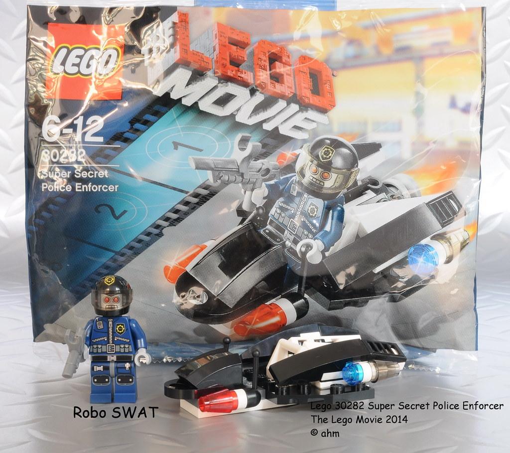lego the lego movie 30282 super secret police enforcer